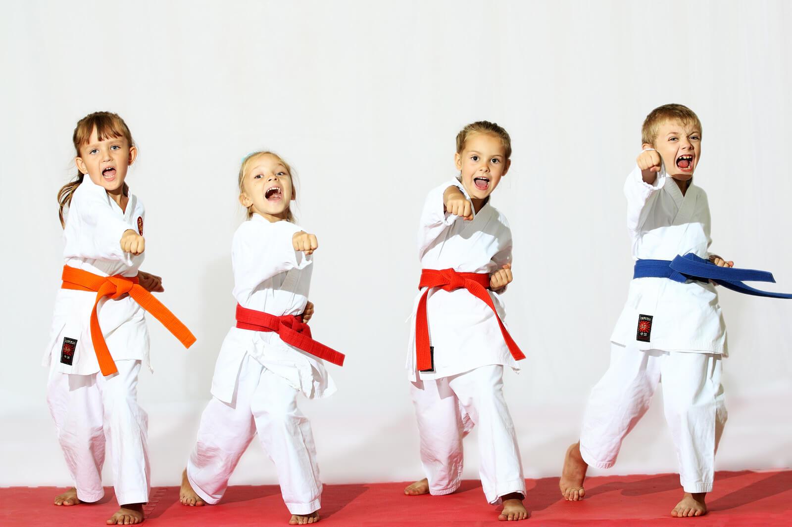 Zajęcia karate dla dzieci wNiechorzu