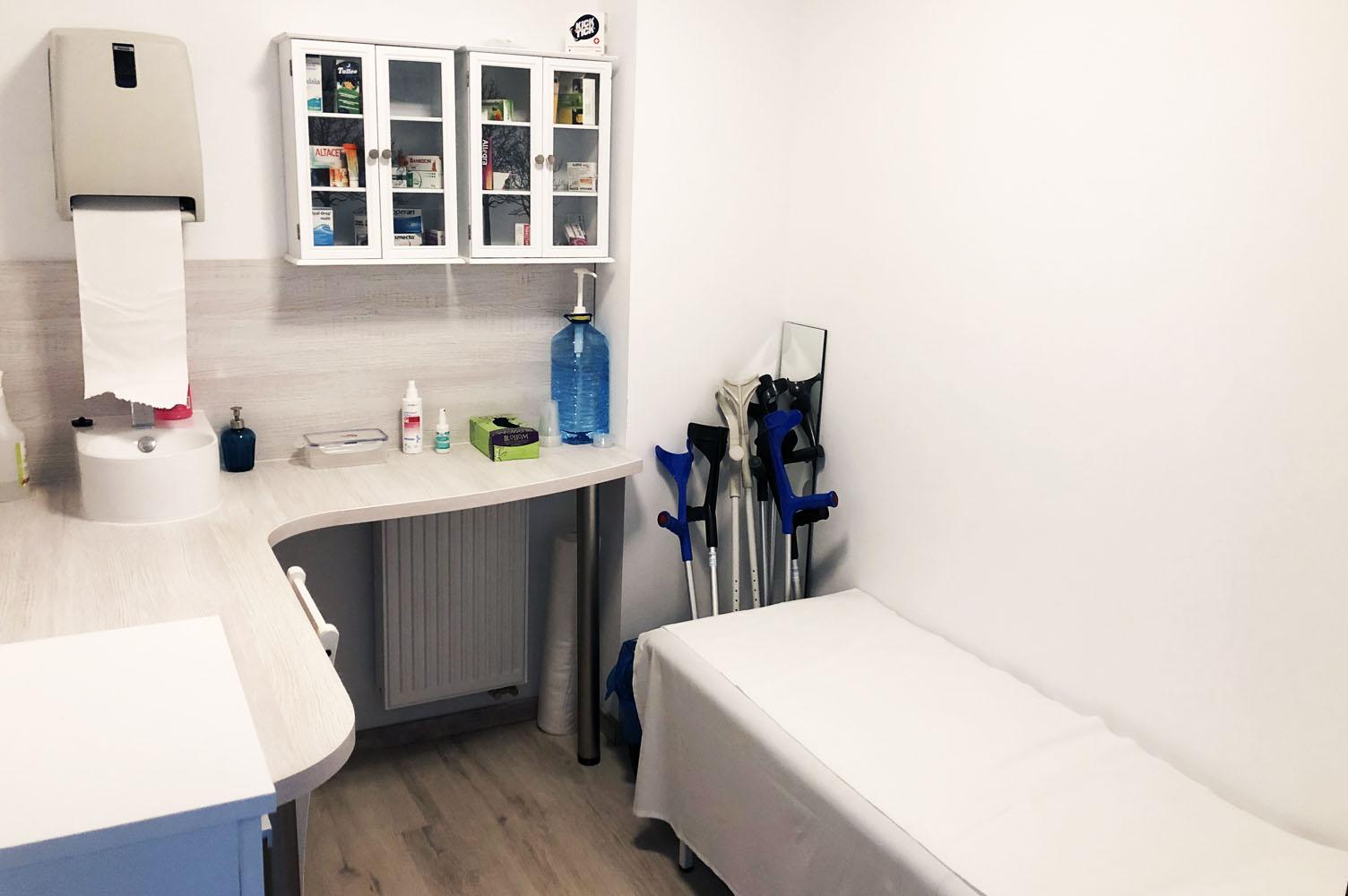 Gabinet lekarski w ośrodku Haryzma